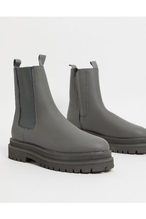 ASOS DESIGN Men Boots - Chelsea calf boots in faux leather