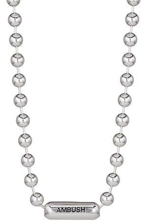 AMBUSH Ball Chain Logo Necklace