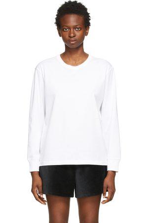 Alexanderwang.t Puff Logo Long Sleeve T-Shirt