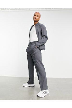 ASOS DESIGN Co-ord smart wide leg trouser in crinkle