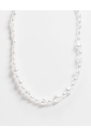 ASOS Necklace with faux pearl