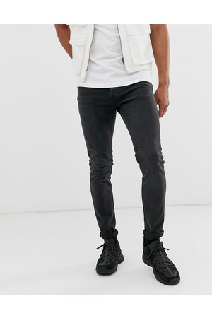Topman Stretch skinny jeans in washed