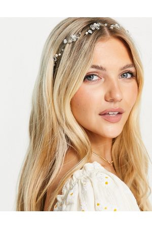 ASOS Women Hair Accessories - Hair crown with floral details