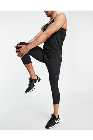 ASOS Men Leggings - Icon training tights in cropped length with quick dry
