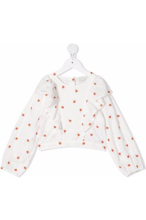 Stella McCartney Floral-embroidered blouse