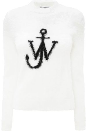 J.W.Anderson JW Anchor print textured jumper