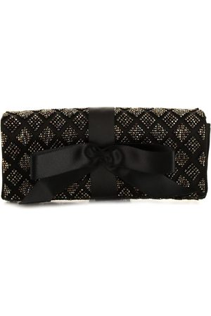 CHANEL Women Clutches - 2006 pearl embroidered bow clutch