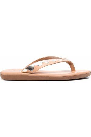 Ancient Greek Sandals Slip-on leather flip flops