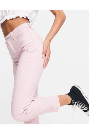 New Look Women Boyfriend - Mom jeans in pastel