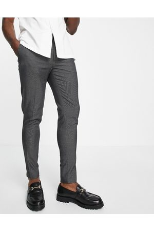 ASOS DESIGN Super skinny smart trouser in pin dot