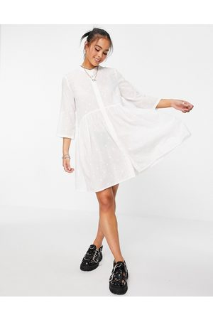 ONLY Shirt smock dress with 3/4 sleeves in