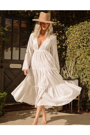 Billabong Salty Blonde Wander maxi beach dress in