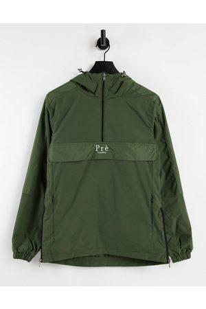 Pre London Men Sports Jackets - Logan windbreaker in khaki