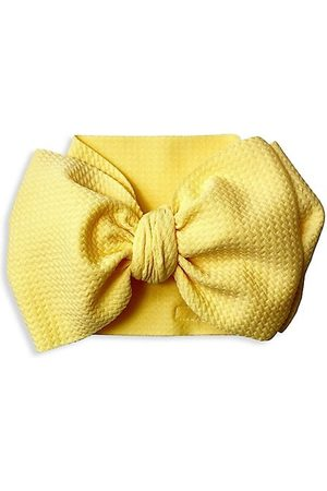 Mini Prep Boys Bow Ties - Baby Girl's Textured Bow Headwrap