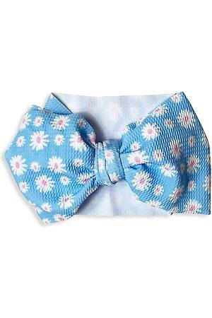Mini Prep Boys Bow Ties - Baby Girl's Daisy Bow Headwrap