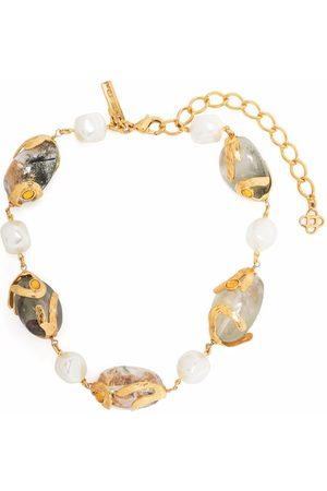 Oscar de la Renta Women Bracelets - Pearl bead bracelet