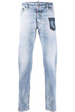 Dsquared2 Men Skinny - Cool Guy distressed-effect jeans