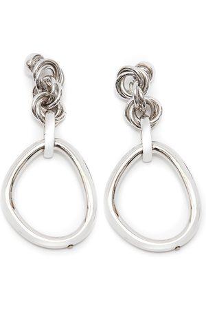 J.W.Anderson Oversized link chain earrings