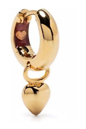 Maria Black Women Earrings - Aya -plated sterling silver huggie earring
