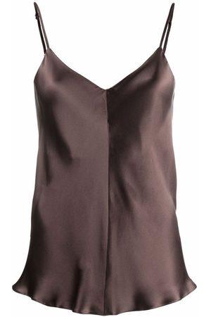 12 STOREEZ Women Camisoles - V-neck silk camisole