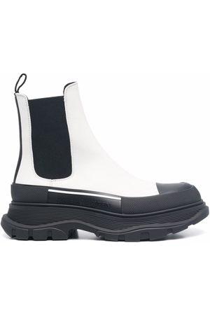 Alexander McQueen Women Ankle Boots - Tread Slick Chelsea ankle boots