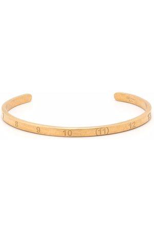 Maison Margiela Women Bracelets - Numbers-motif cuff bracelet