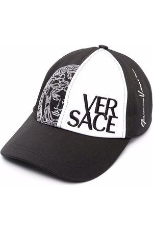 VERSACE Men Hats - Medusa logo-embroidered trucker cap