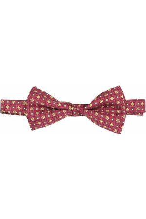 Etro Geometric-print bow tie
