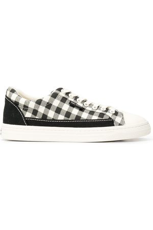 Tory Burch Women Heeled Pumps - Classic Court gingham sneakers