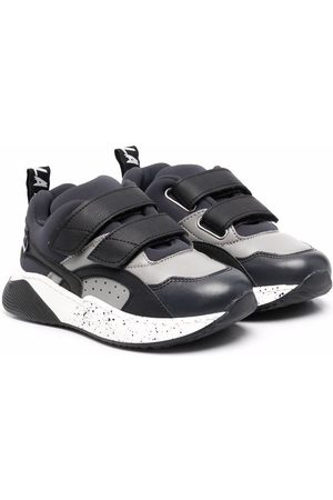 Stella McCartney Panelled touch-strap sneakers