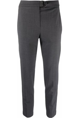 Brunello Cucinelli Women Pants - Mid-rise cropped trousers
