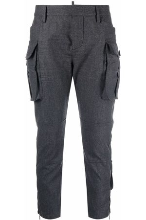 Dsquared2 Cargo pocket cropped trousers
