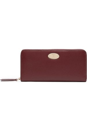 MULBERRY Women Wallets - Logo-plaque grained leather wallet