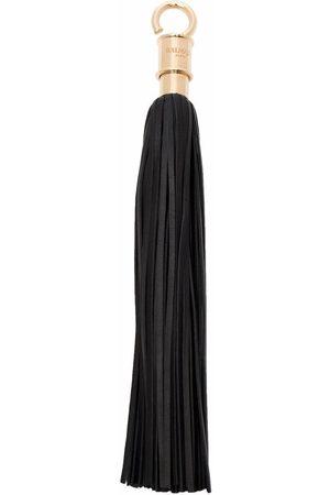 Balmain La Clef tassel-detail leather keyring