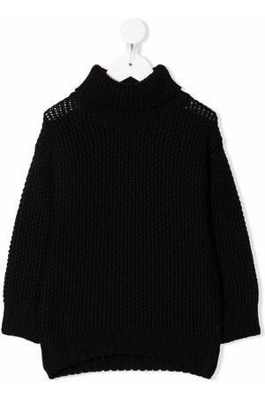 Il gufo Boys Jumpers - Ribbed-knit wool jumper