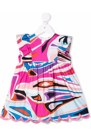 Emilio Pucci Baby Casual Dresses - Abstract-print mini dress