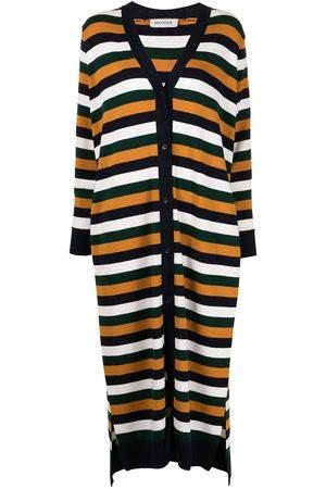 MONSE Striped open-sleeve cardigan