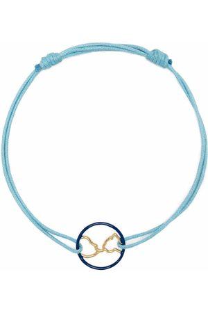 Aliita Women Bracelets - 9kt yellow Mundo cord bracelet