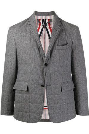 Thom Browne RWB stripe padded jacket