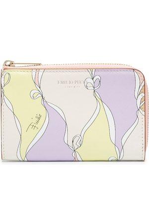 Emilio Pucci Abstract print zip-around wallet