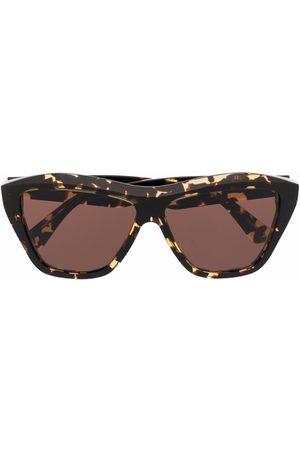 Bottega Veneta Rectangle frame sunglasses