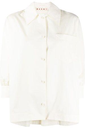 Marni Trapeze-style cotton shirt