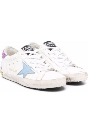Golden Goose Distressed low-top trainers