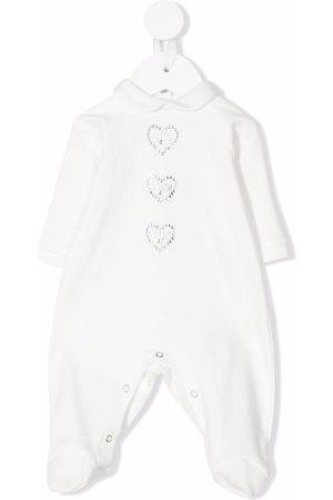 MONNALISA Rhinestone cotton pajamas
