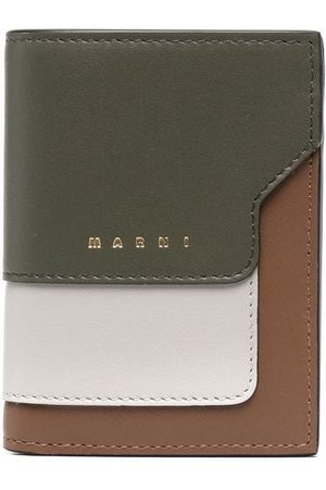 Marni Colour-block bifold wallet