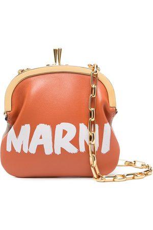 Marni Women Wallets - Logo print coin purse