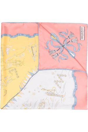 Emilio Pucci Holidays-print silk scarf
