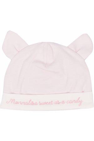 MONNALISA Ear-embellished knitted cap