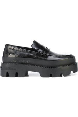 MISBHV Women Loafers - Chunky-sole combat loafer