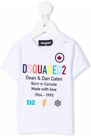 Dsquared2 Baby Short Sleeve - Logo-print cotton T-shirt